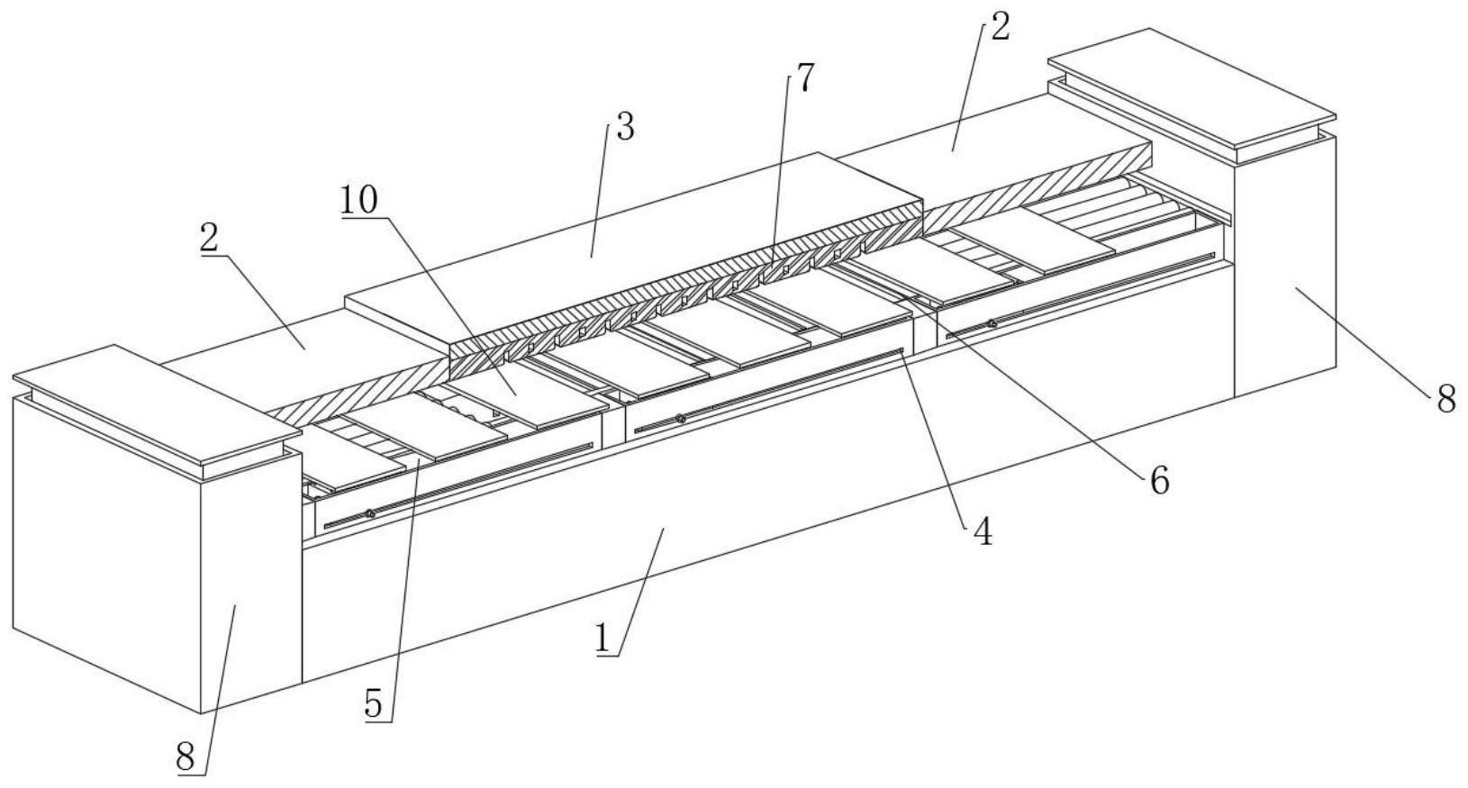 一种用于光伏板的气浮式高效镀膜设备