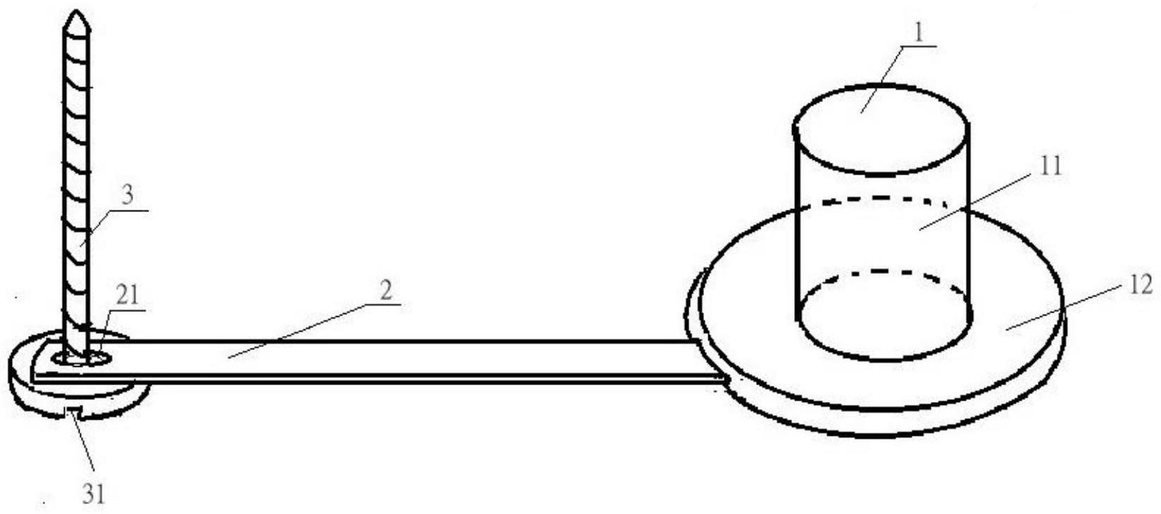 呼吸空气鞋的进风口的塞子简易结构