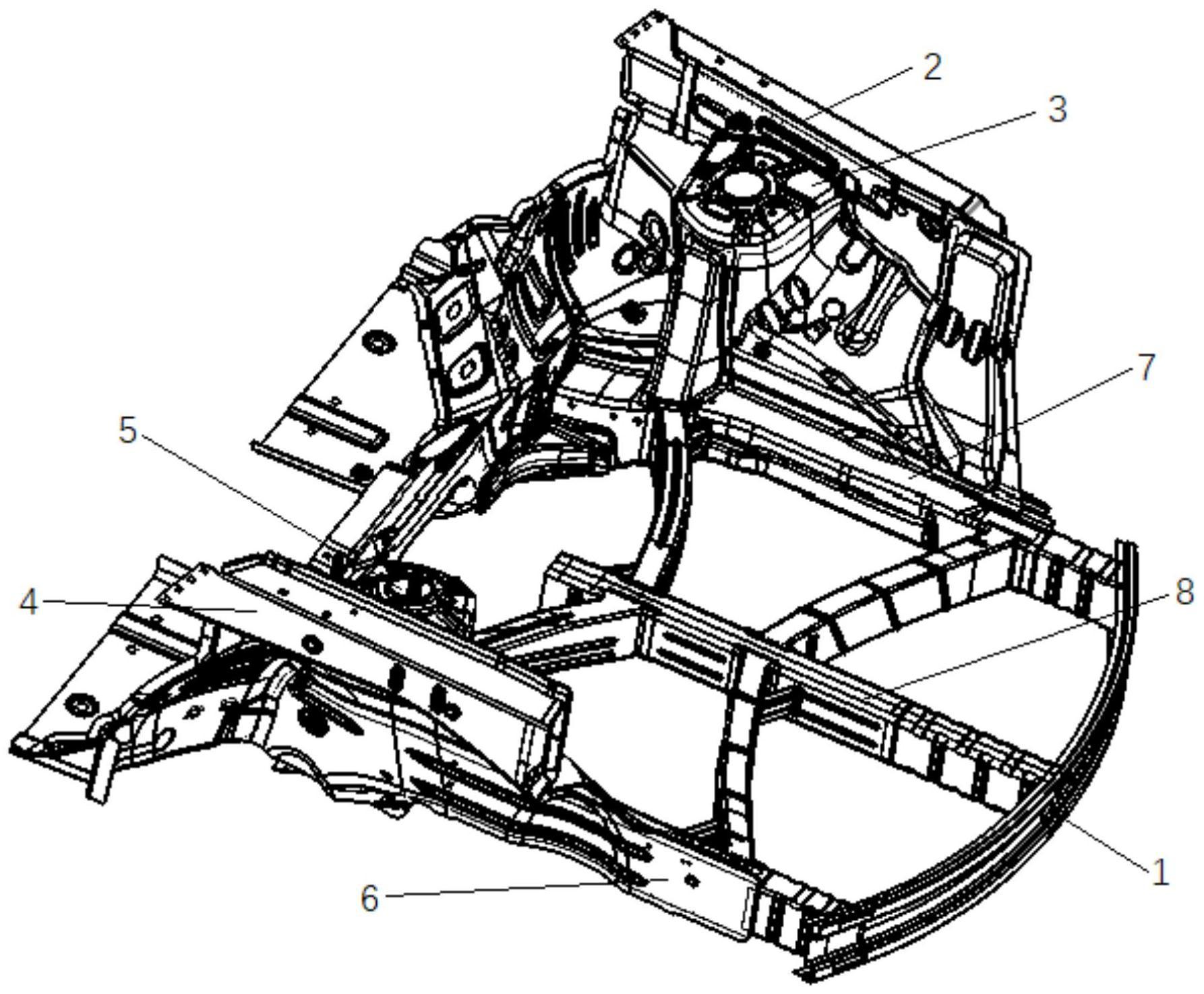 一种汽车发动机舱