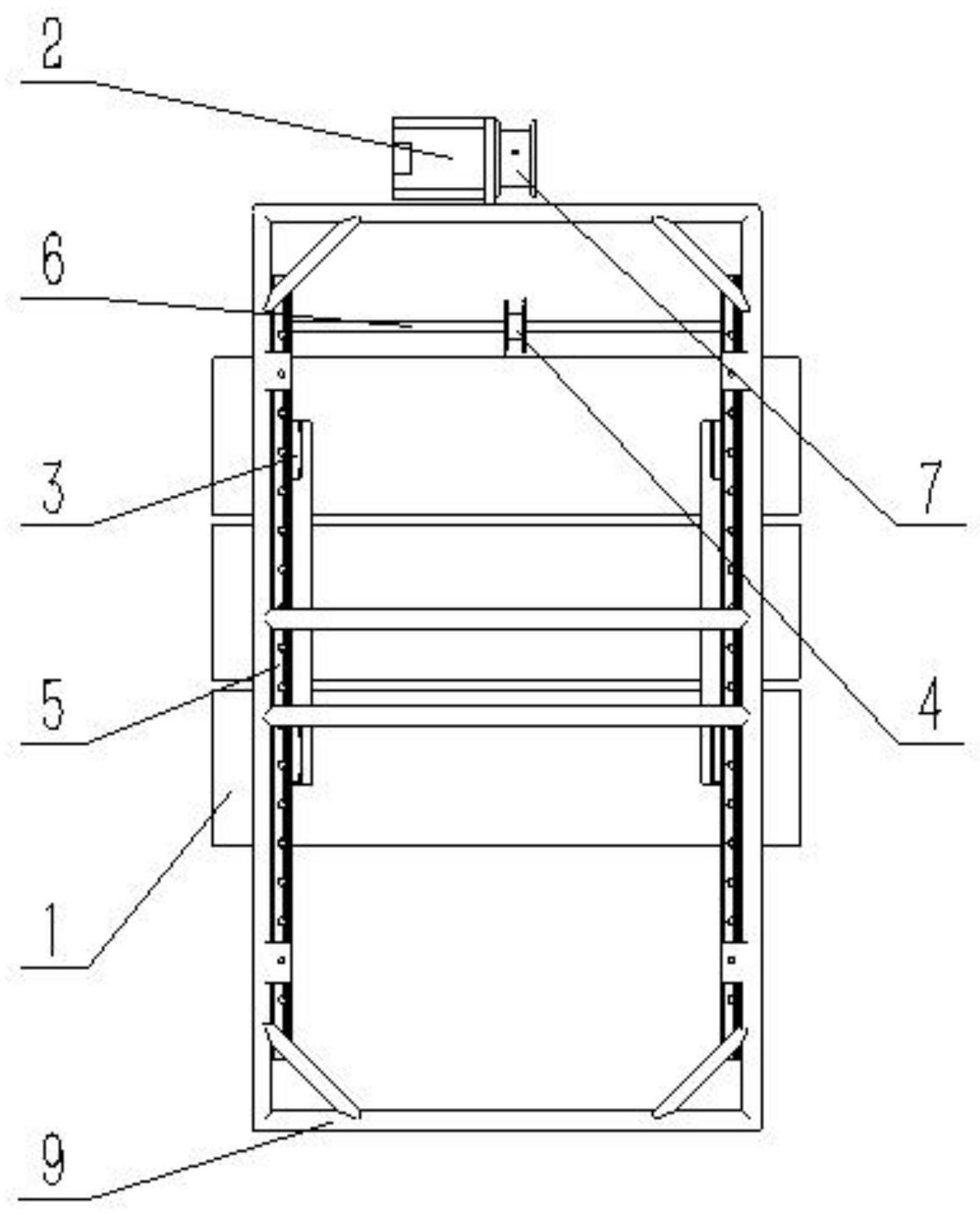 一种竖直式三通道超级高铁车站结构