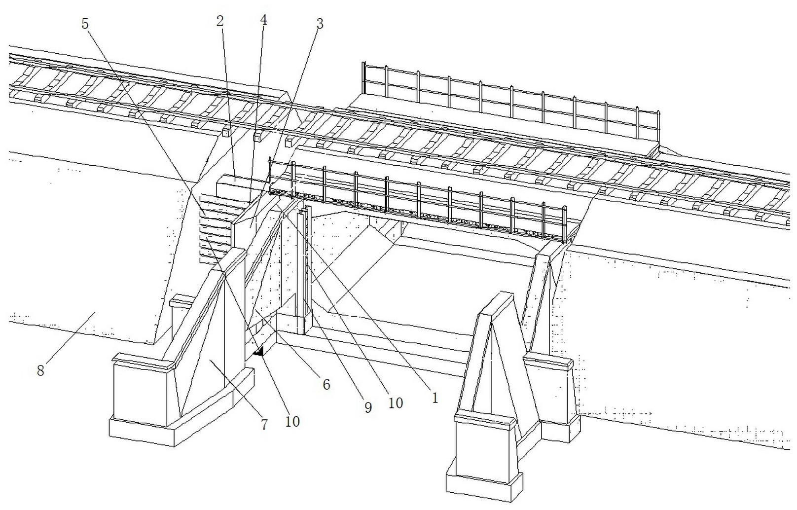 一种铁路桥涵接长侧路基加固方法