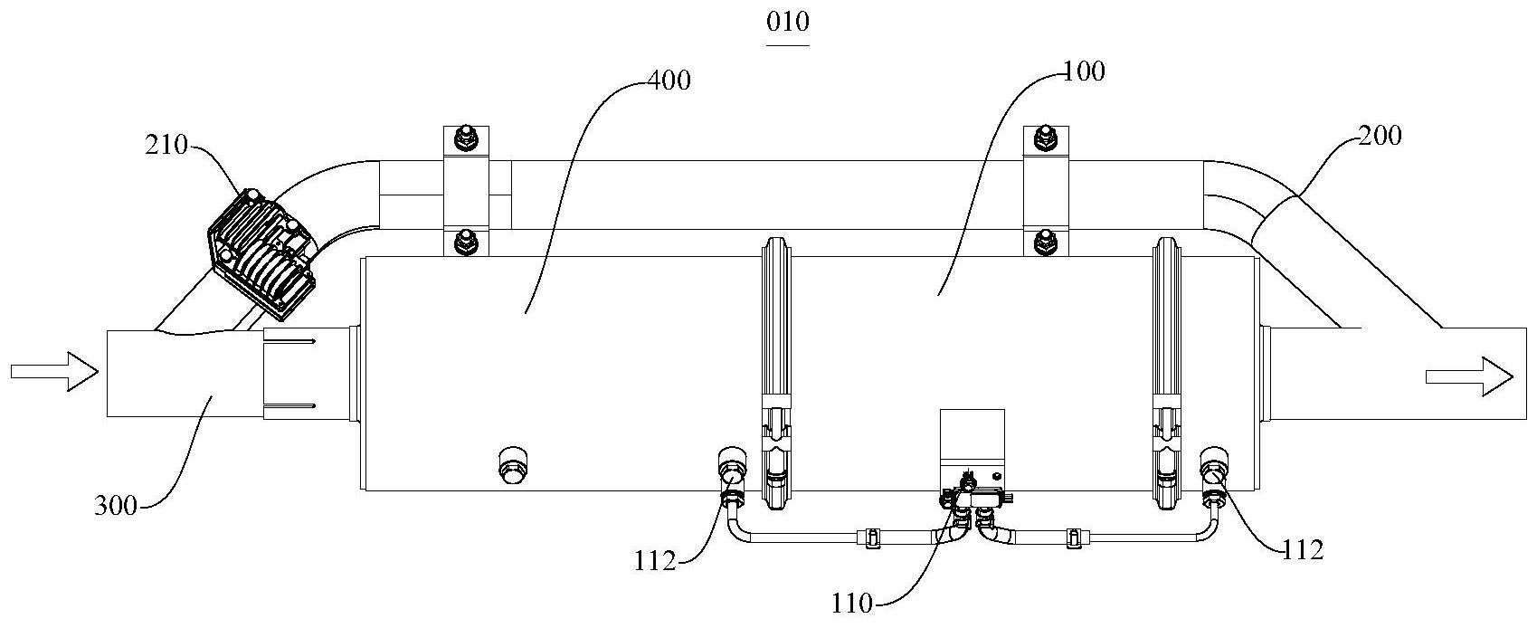 尾气处理装置、其控制方法和工程设备