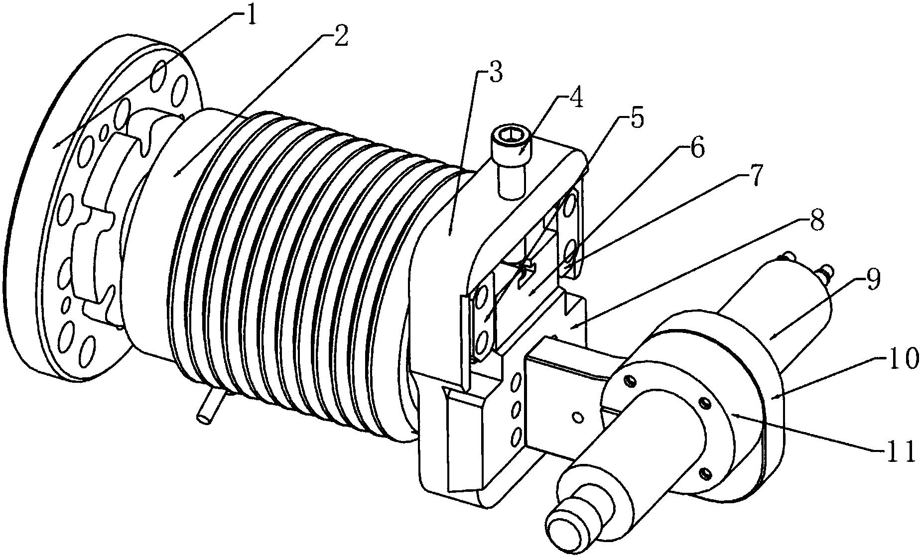cn105904297b_一种用于机器人末端的柔性打磨直磨机装置有效