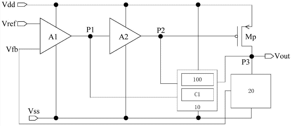 cn106959717b_低压线性稳压器电路及移动终端有效