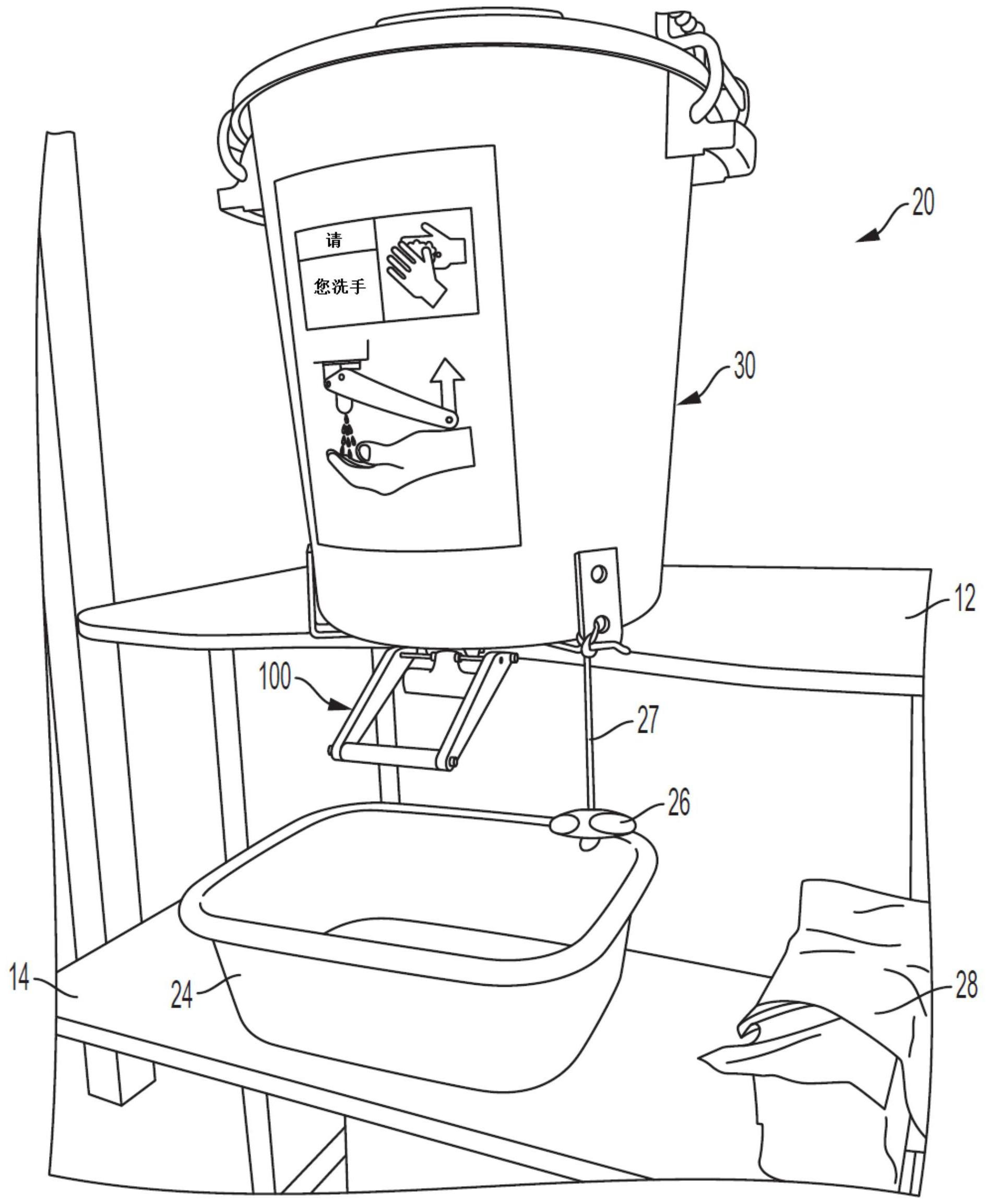 洗手阀结构