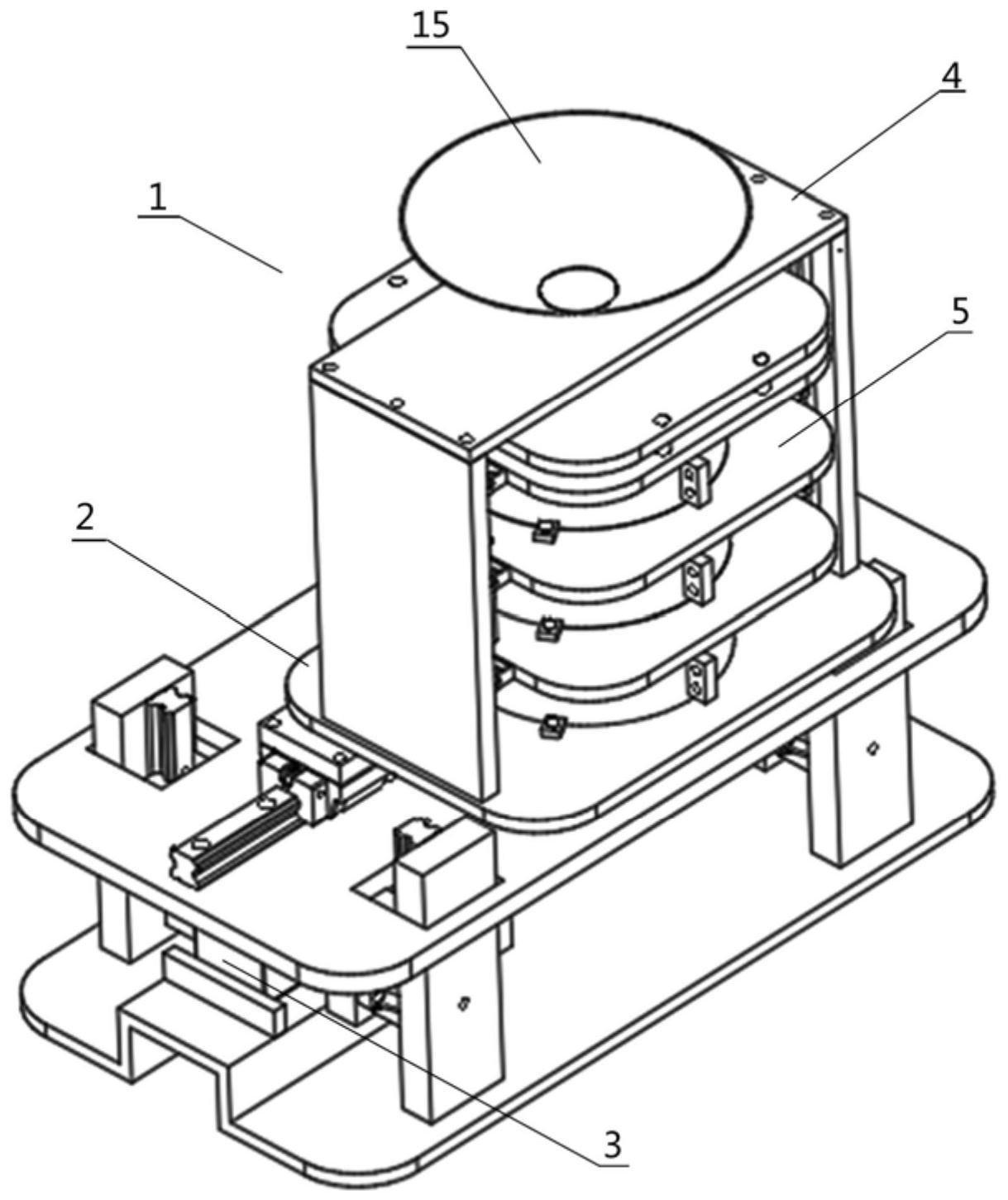 一种振动筛分装置