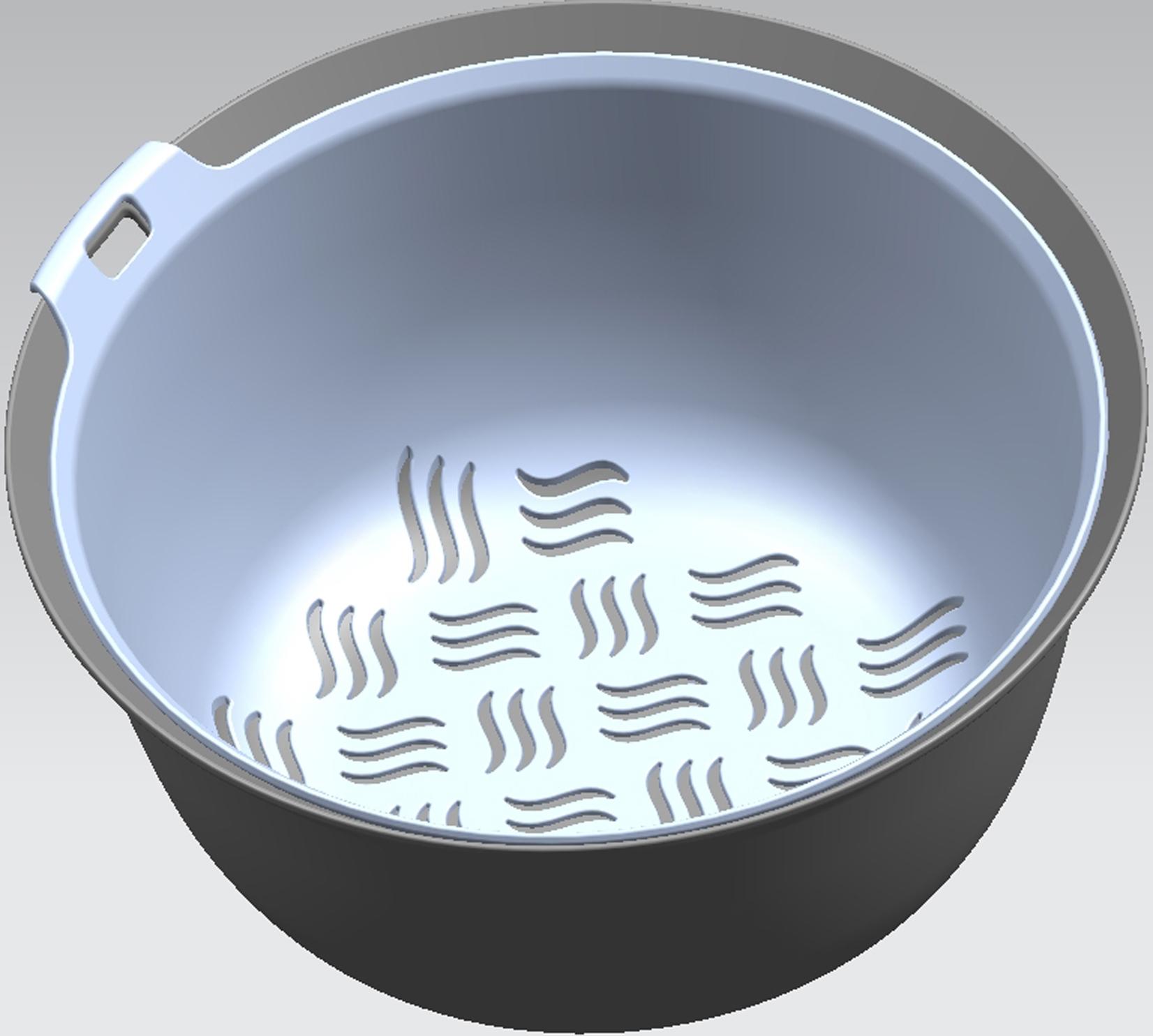 沥水篮(波浪纹)