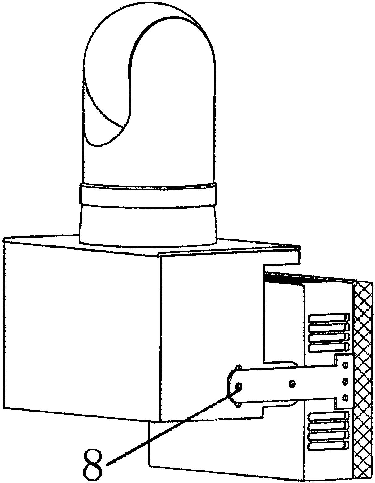 cn207067421u_一种雷达与光学联动的目标探测系统有效