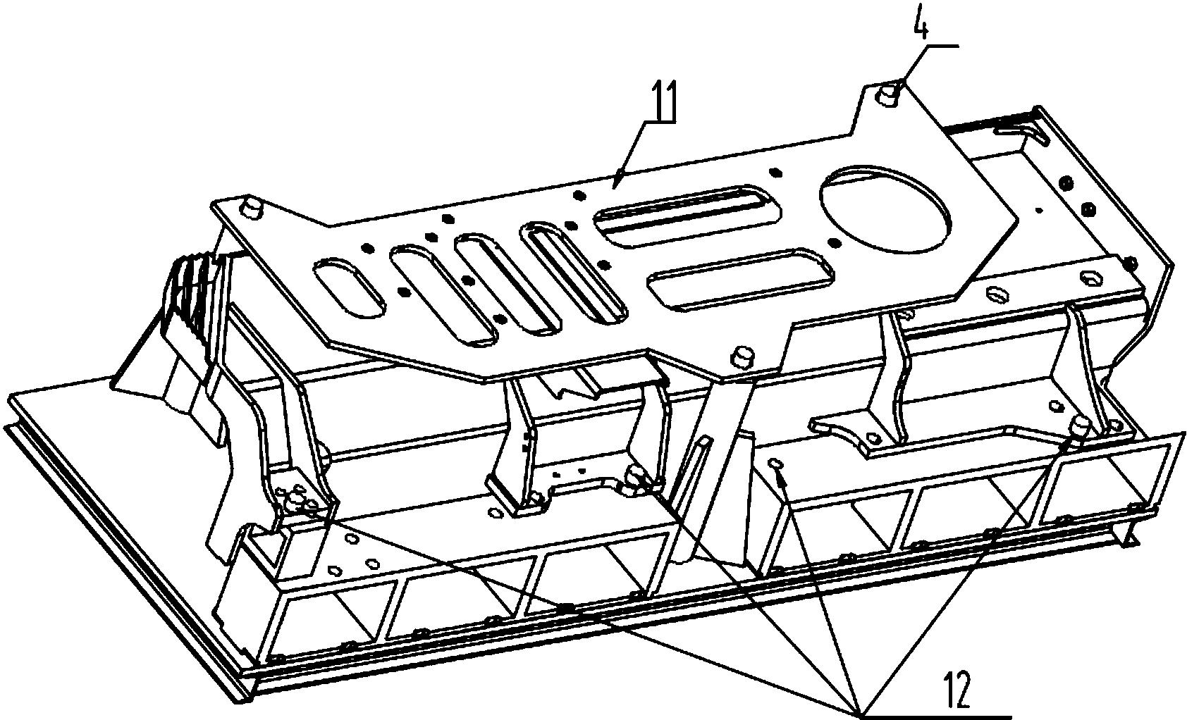 cn207086986u_一种推土机用翼板精密钻孔工装有效