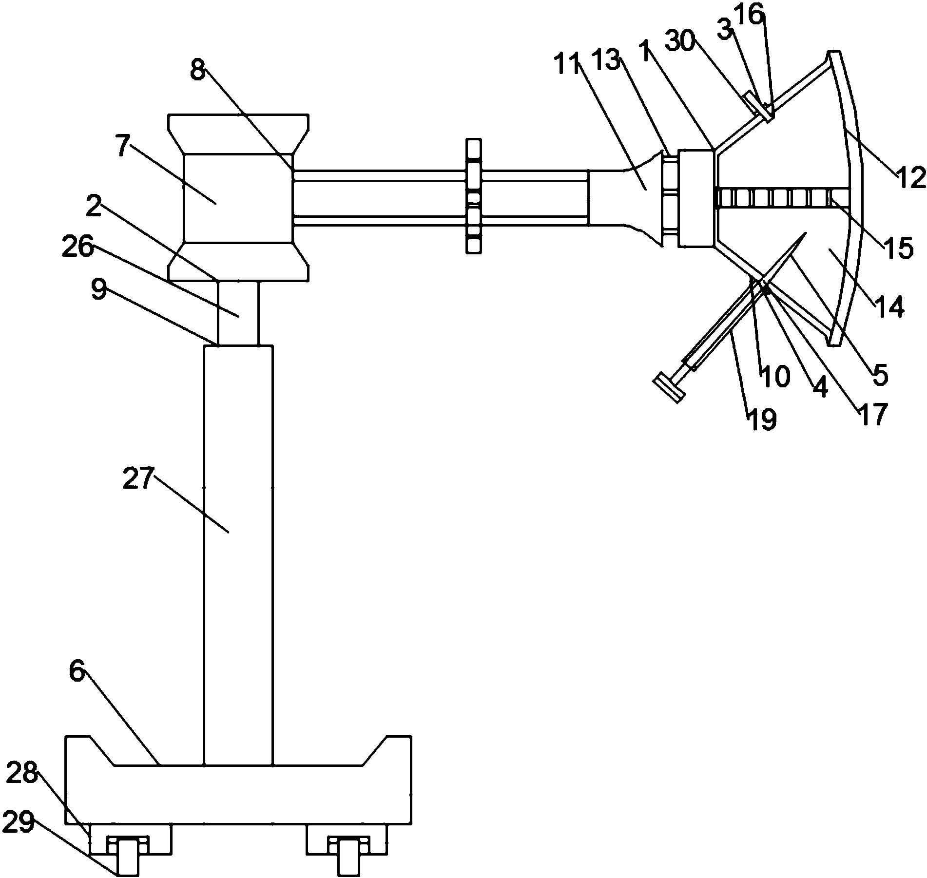 cn207506620u_一种超声引导乳腺穿刺导向器有效