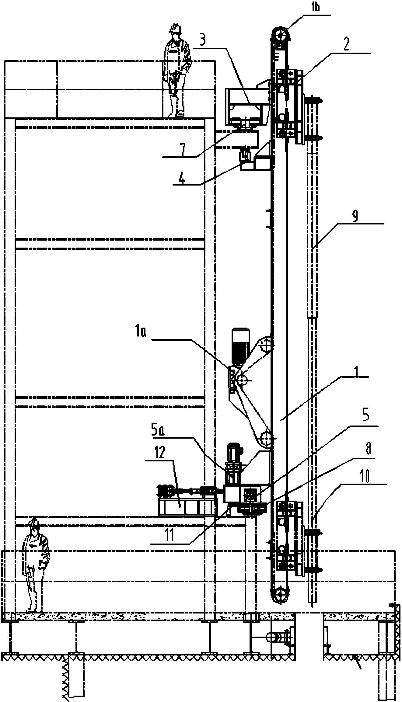 一种用于炼钢厂连续脱硫喷吹脱硫剂的双枪装置武汉凡石设计装修图片