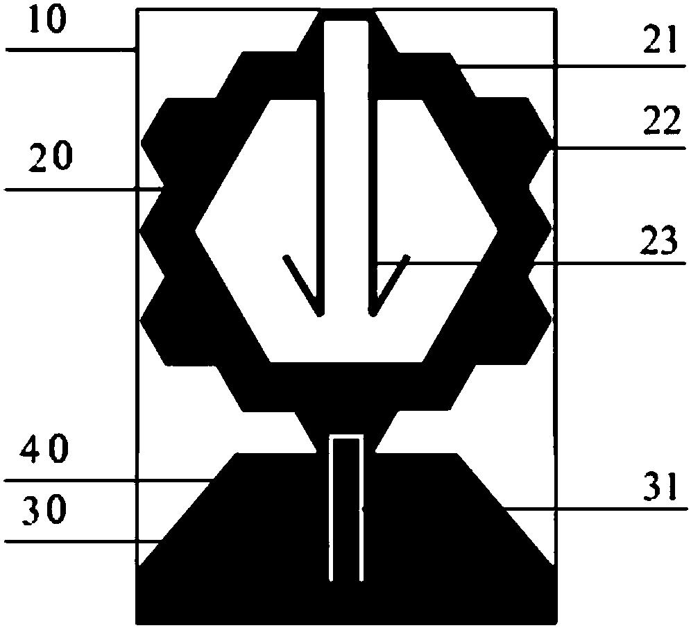 cn208226087u_一种具有三陷波特性的超宽带天线有效图片