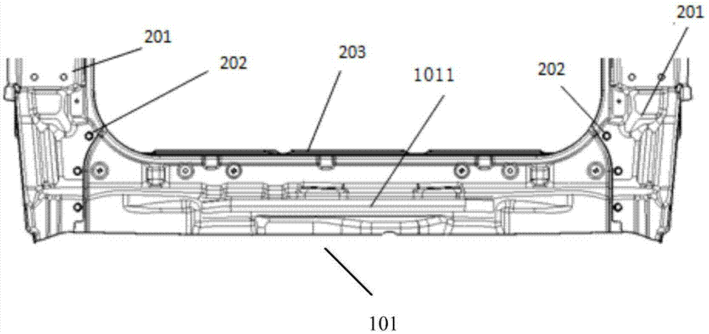 cn208248130u_一种汽车用后防撞梁总成结构有效