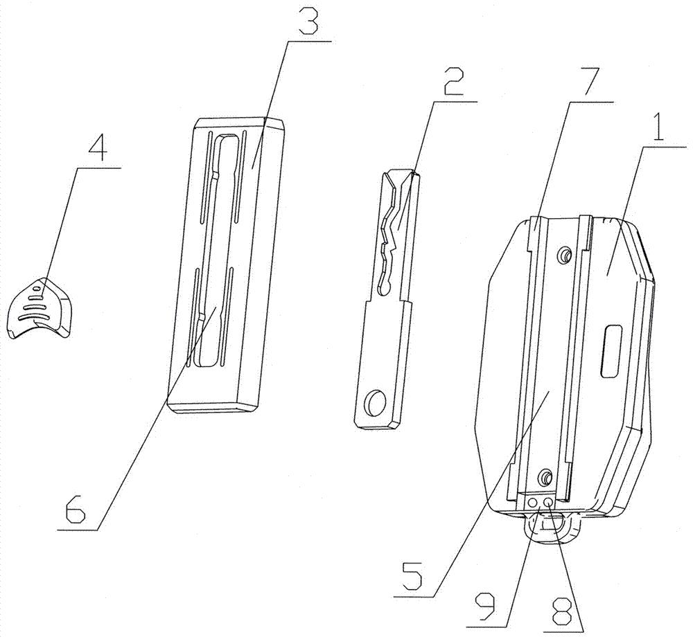钥匙项链简笔画