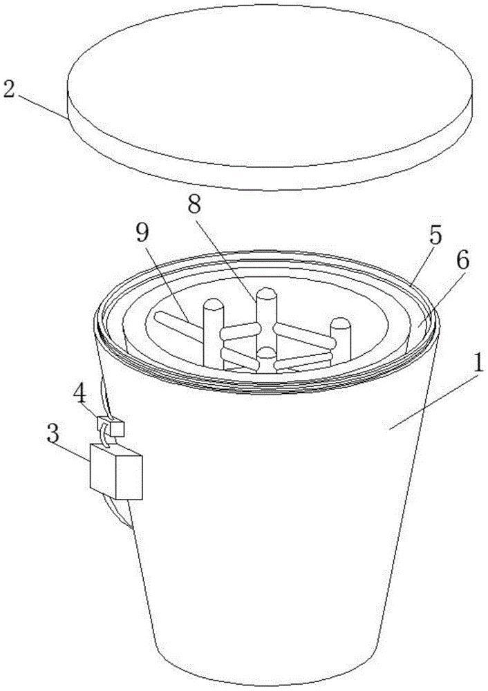 一种酿酒加工用冷却装置