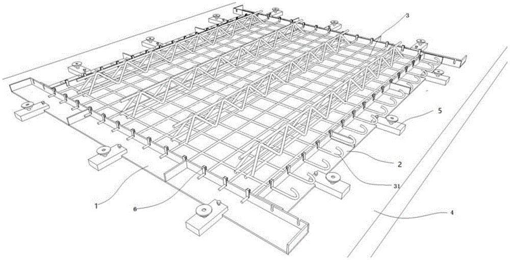 一种简易的PC叠合楼板生产模具