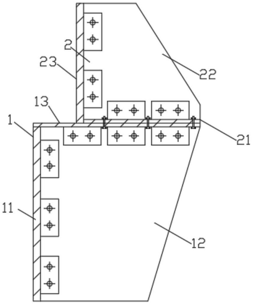用于桥梁纠偏的反力支撑装置