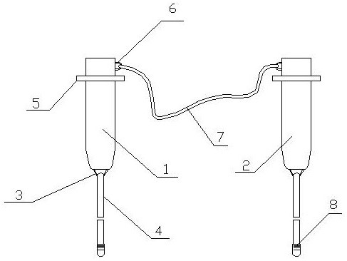 用于风力发电设备快速连接装置