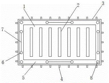 一种防止字符漏印的印制线路板