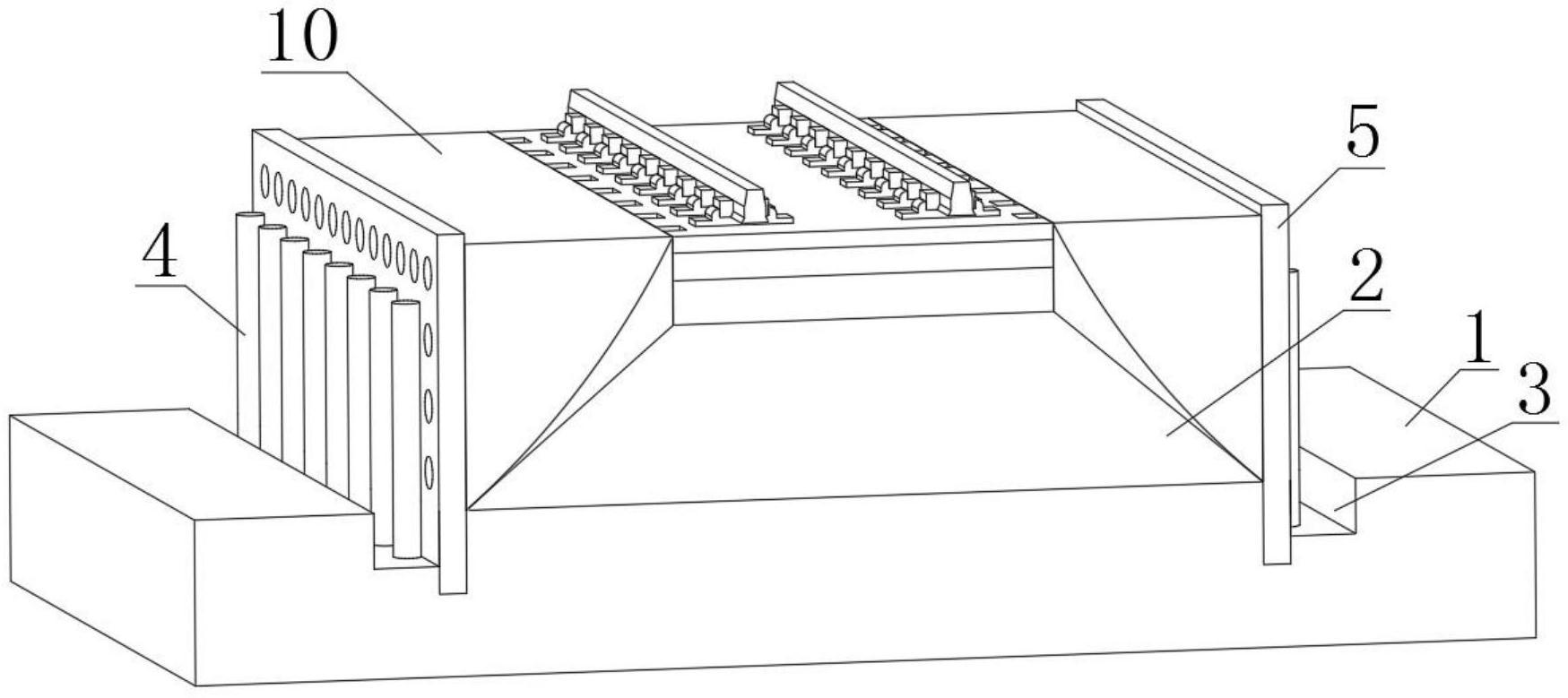 一种无砟轨道高速铁路路基表层结构
