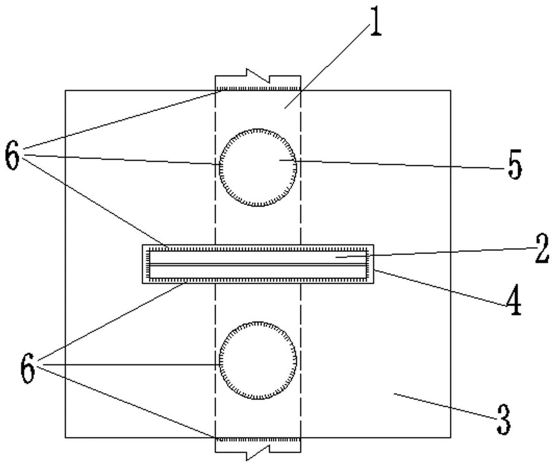 一种隧道型钢拱架接头处加强结构