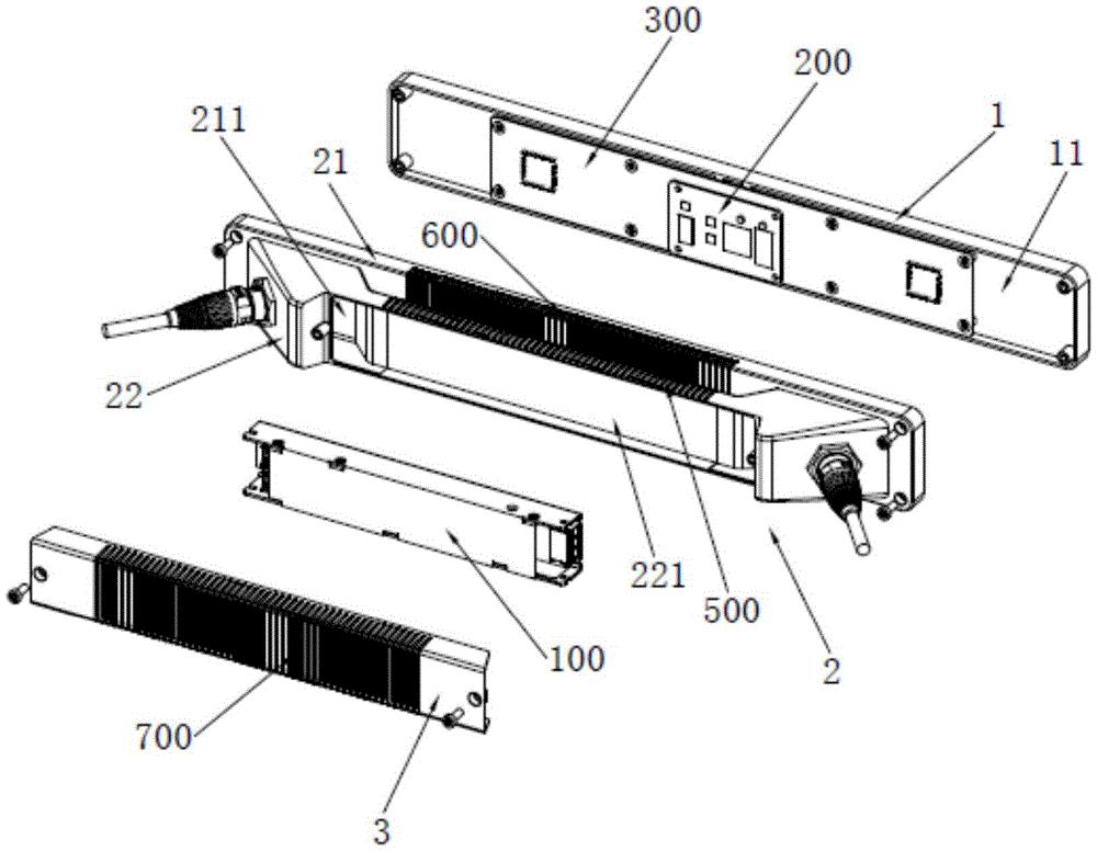 信号电源盒、信号电源组件和显示屏