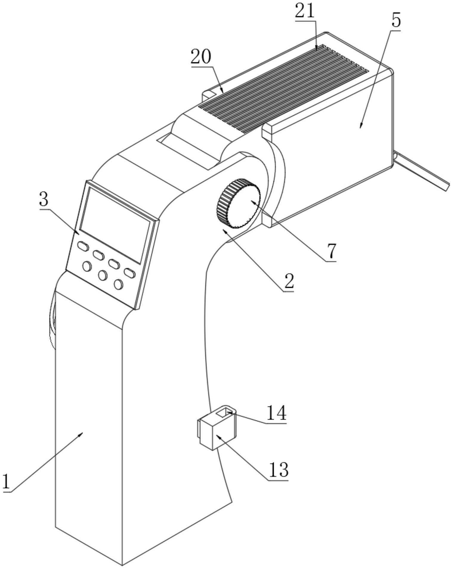 一种高安全防护性红外测温装置