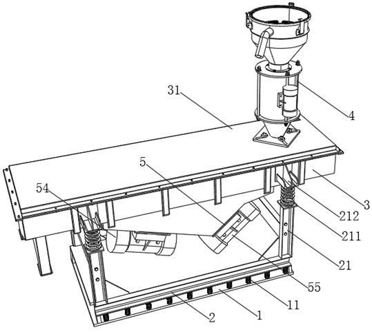 一种重力筛分炉渣金属装置机构