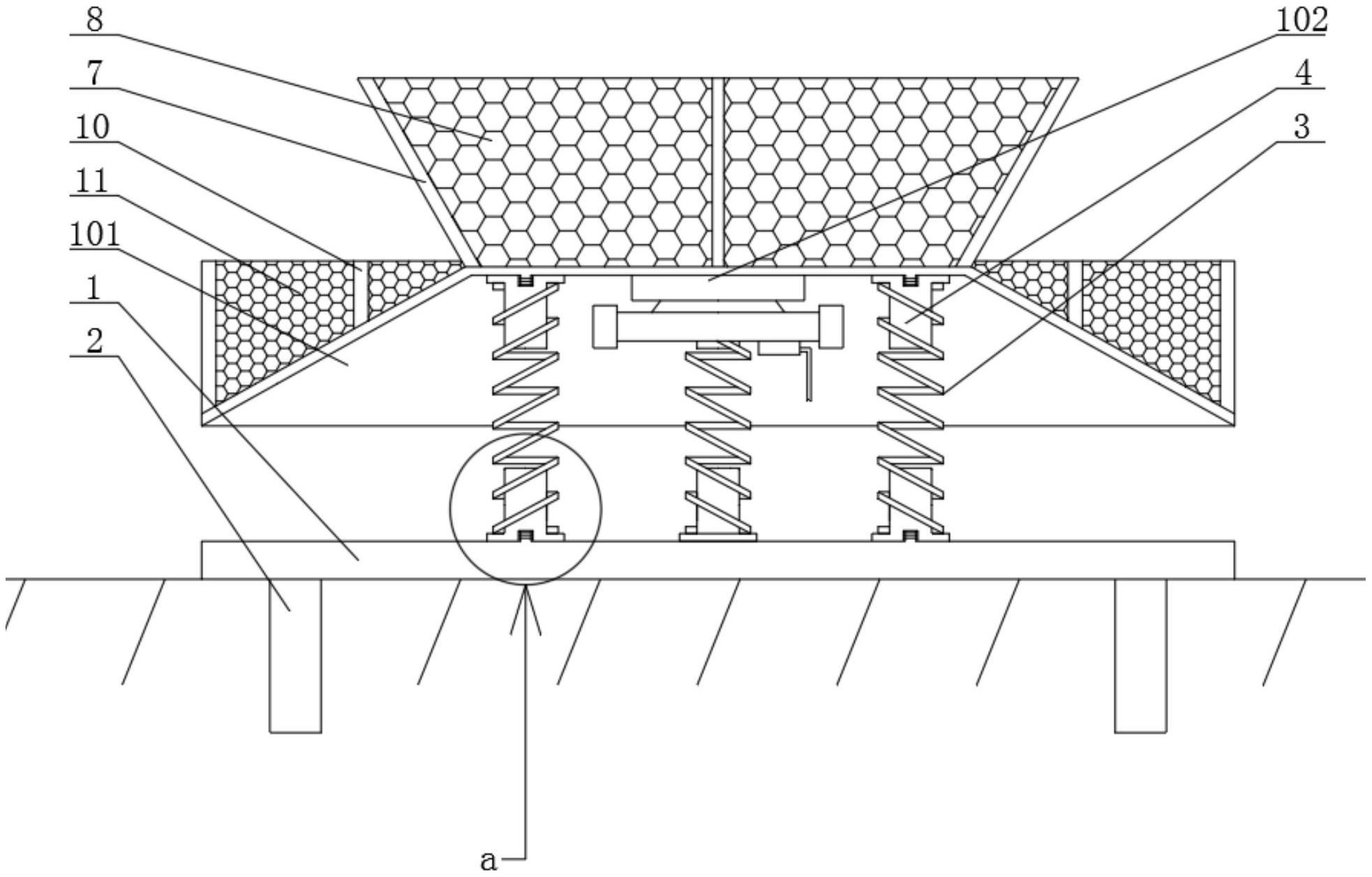一种输煤皮带高硬度异物分离装置