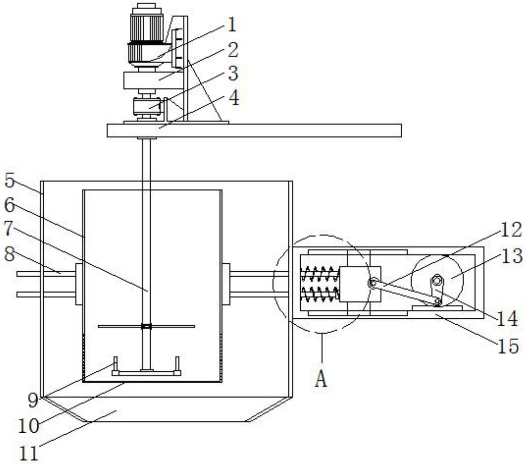 一种过氧化碳酸酰胺生产用原料筛选设备