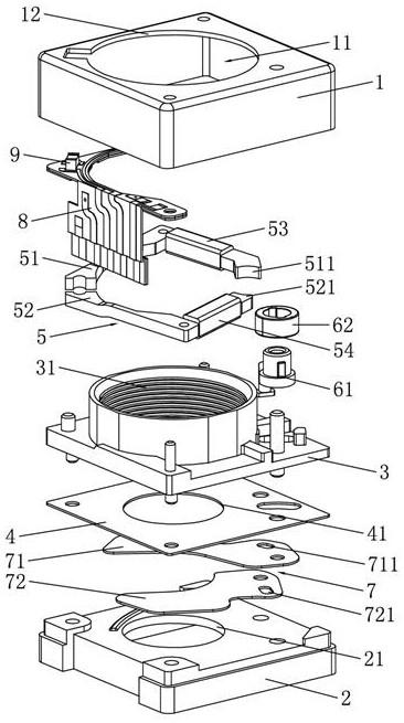一种结构改良的微型热成像快门