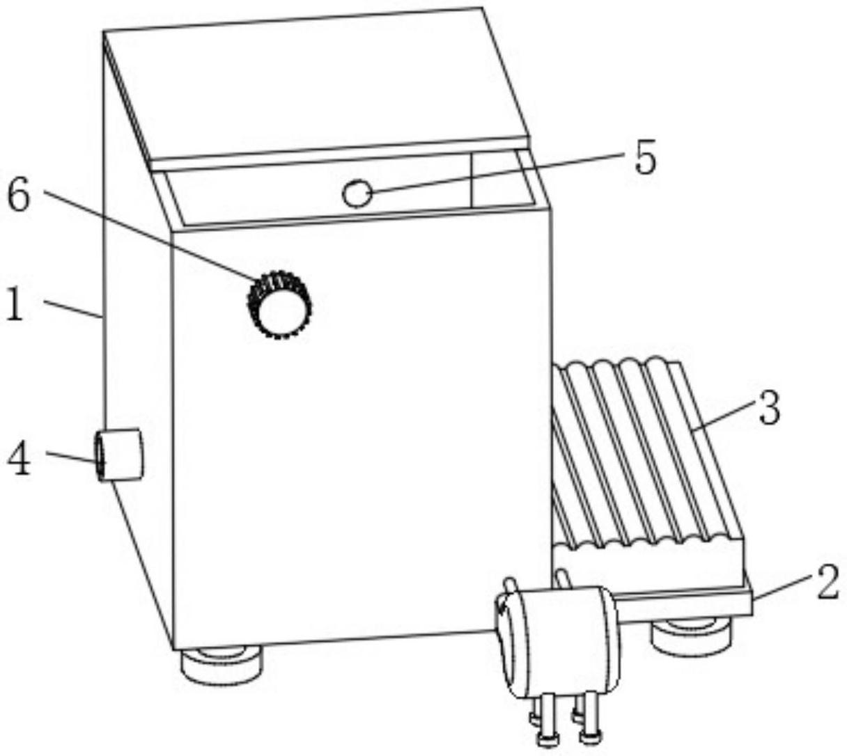 一种利用除臭风冷进行生物反应热降温的节能装置
