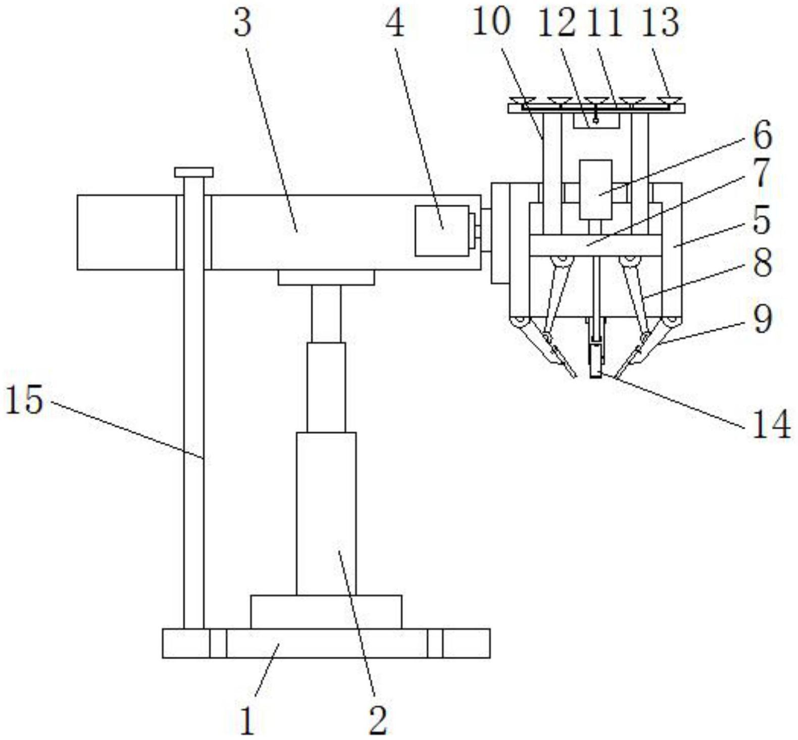 一种用于机械制造的机械抓取装置