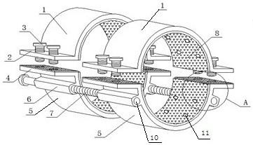 一种水利水电施工紧固处理装置