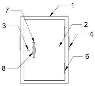 一种自动除湿式高压配电柜