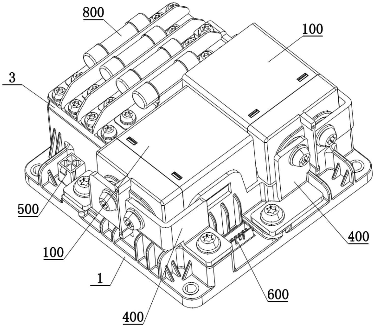 一种配电模块电气结构