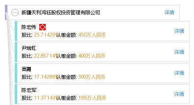 新疆天利鸿钰股权投资管理有限公司